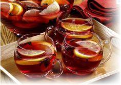 Christmas Tea Punch   4TBSP Loose leaf black tea   (we recommend Java Kertasarie) 2 cups white rock sugar   3 cups of water, just below a bo...