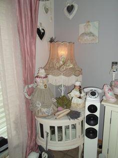 love vintage lampshade