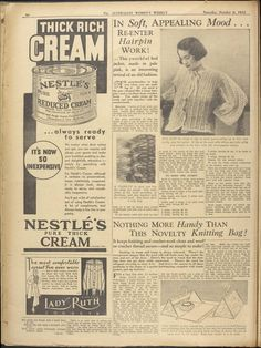 Issue: 6 Oct 1934 - The Australian Women's Week...