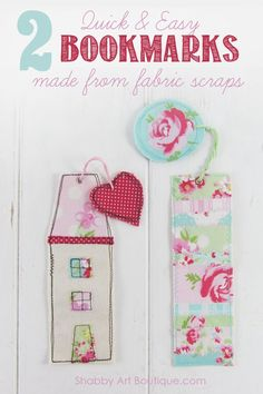 Hi there friends, I'm popping in today with a super quick diy… honestly, this craft project will take you less than a 1/2 hour to complete. What's more, it's made with teeny weeny fabric scraps and things you probably already have in your craft room, so if you need a quick handmade gift idea… this …