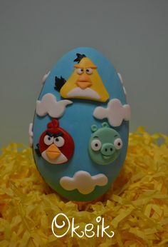 Angry Birds chocolate easter egg