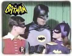 Batman TV Series | Batman 1960's TV Show (Batman, Robin & Batgirl) Mousepad (new ...