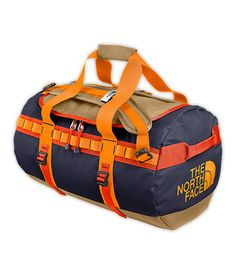 It's not your average #duffel #bag. Made from a durable laminate material, the Base Camp Duffel is a bomber of a bag.