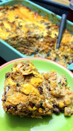 Inspired By Erecipecards Tex Mex Enchilada Lasagna Casserole Ugly But Delicious