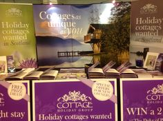 Christmas fair stand in Inverness, Scotland - promoting self catering holidays and recruiting new cottages. Inverness Scotland, Cottages, Catering, Holidays, Christmas, Home Decor, Xmas, Cabins, Holidays Events