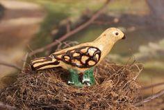 ** Circa Home Living **  Small Pottery Bird
