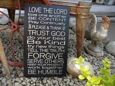 Family Rules Sign Wall Sign Carved Engraved 11x20