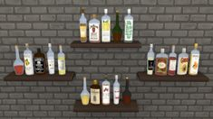 The Sims 4: Decorative Bottles