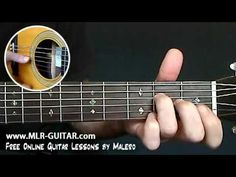"""How to play """"Wicked Game"""" - MLR-Guitar Lesson #1 of 6"""