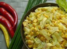 Sałatka z selera naciowego z curry