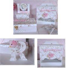 Kit passarinho floral!  #babygirl #maternidade #gravida2015 #gravidez #kithigiene #kithigienemenina #regalosdemaria #decorpersonalizada