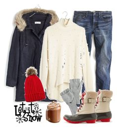 """""""Snow day❄️"""" by villasba on Polyvore featuring Madewell, J.Crew, women's clothing, women's fashion, women, female, woman, misses and juniors"""