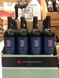Red Sox Wine - I need this.. no really I have to find this...