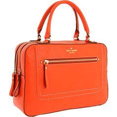 Love this tangerine bag.