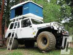 Camping In Luxury Jeepster Commando