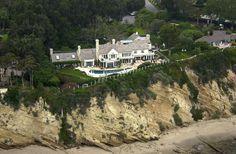 Barbara Streisand (Malibu, CA) #2 An aerial view of Barbara Streisand's beachfront property.
