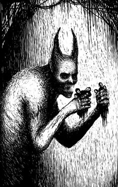 Tape Malcria/VDS by h-Nox.deviantart.com on @DeviantArt Creepy Comics, Punk, Man Images, Another World, Occult, Dark Art, The Darkest, Scary, Batman