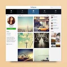 #instagram #redesign