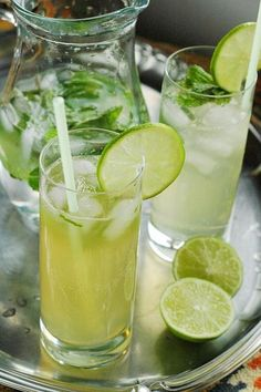 Honey and spiced rum take this easy cocktail recipe to another level. Mint and lime add a bright and refreshing finish. Using honey instead of sugar helps make this a healthy cocktail recipe that everyone will love.