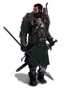 Humano, guerreiro: Ex-capitão do exército real. Exonerado, agora vive numa pequena casa no meio da floresta.