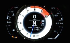 Lexus said it used a digital tach in the LFA because its V10 engine revved too quickly for an analog unit to keep up. Marketing speak? Perhaps, but regardless, the LFA's instrument panel is one of the most gorgeous we've ever seen in a car. Thankfully its style lives on in the RC F and the GS F.