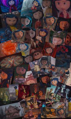 Coraline Tumblr, Coraline Movie, Coraline Art, Coraline Jones, Iphone Wallpaper Lights, Graphic Wallpaper, Wallpaper Iphone Disney, Cute Disney Wallpaper, Cartoon Wallpaper