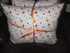 Star print Pillow by 12dozen on Etsy