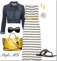 Yellow accents.
