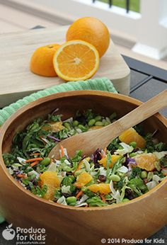 Sunflower Crunch Chopped Salad - Jazz up a packaged salad with just a few simple ingredients. Make ahead for a grab-and-go lunch; just add dressing when it's lunchtime. #glutenfree #recipe #produceforkids #healthy