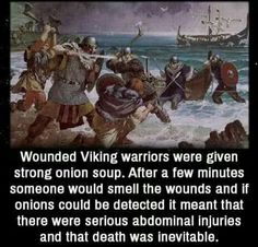 For wounded Vikings...