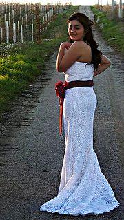 fabiola's Bride    Modified using The GIMP