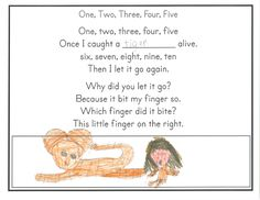 Use counting rhymes to develop math and literacy skills simultaneously. Counting Rhymes, Ordinal Numbers, Literacy Skills, Addition And Subtraction, Letting Go, Teaching Ideas, Giving Up, Lets Go, Forgiveness