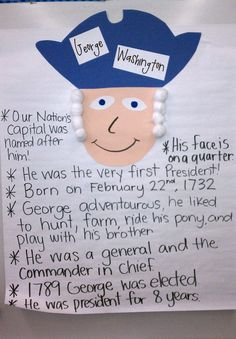 Wards Way of Teaching: President's Day  Break kids into groups to write facts down...jigsaw for Groups to teach others about diff presidents:)