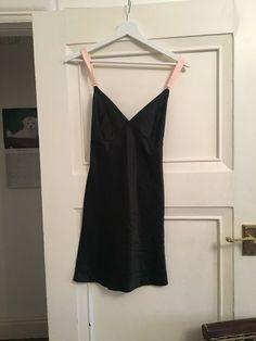 Victoria Secret black Nightgown Sleep ware Nightie New with Tags. Size L.   fashion fe6ab7b0c