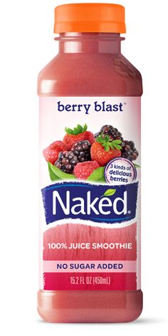Naked Juice Smoothie berry blast ... 5 Blackberries 4 Raspberries 4 Strawberries 3 1/2 Apples 1/2 Banana