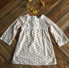 Check out this listing on Kidizen: Baby Gap White + Tan Embroidered Dress via @kidizen #shopkidizen