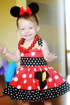 "Photo 1 of 12: Minnie Mouse / Birthday ""Kensley Turns ONE!"" 