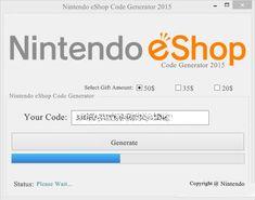 Eshop codes 2015 free nintendo eshop download codes free nintendo 3ds