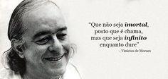 Vinicius de Moraes é tema de palestra no CasaShopping • Barrazine