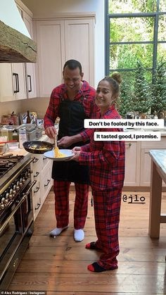 Jennifer Lopez has a mini me daughter Emme, And on Christmas morning the two twinned in the same red plaid flannel jammies as they opened their Christmas present in their LA home.