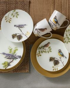 Decoupage Your Dishes