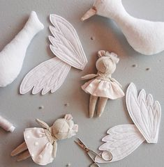 Amazing Home Sewing Crafts Ideas. Incredible Home Sewing Crafts Ideas. Fabric Toys, Fabric Crafts, Sewing Crafts, Handmade Stuffed Animals, Sewing Stuffed Animals, Plush Dolls, Doll Toys, Sewing Projects For Kids, Crafts For Kids