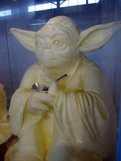 I cant believe its not butter - Yoda