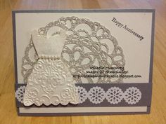 Dressy Anniversary by stampingshelle - Cards and Paper Crafts at Splitcoaststampers