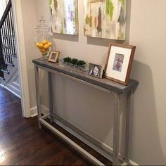 narrow small entry table ideas wonderful decorating opportunities that shouldn't be ignored See more ideas about Entry table decorations, Entrance table and Entrance table decor Farmhouse Style, Hallways, How to build Entrway, Small, Rustic, Narrow, Glass, Mirror, couple Home Project #hallwayideasnarrow