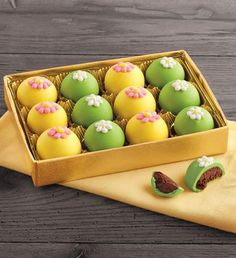 Spring Truffles by Harry & David - Mother's Day Gifts - Gourmet Gifts for Mom - Chocolate Delivery Coconut Hot Chocolate, Chocolate Sweets, Easter Chocolate, Chocolate Truffles, Melting Chocolate, Chocolate Box, Chocolate Delivery, Luxury Chocolate, Spring Desserts