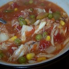 Maryland crab soup on BigOven: Maryland-style crab soup means a tomato broth and plenty of juicy lump or backfin crab meat.