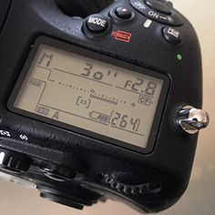 Nikon D800 Intervalometer for star trail photography