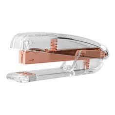 Bloomingville rose gold stapler, $45