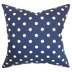 The Pillow Collection Polka Dots Decorative Pillow : Target
